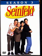 Buy Seinfeld - Season 3 DVD 2004, 4-Disc Set - Very Good