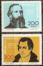 Buy [AR1229] Argentina: Sc. no. 1229-1230 (1979) MNH Complete Set