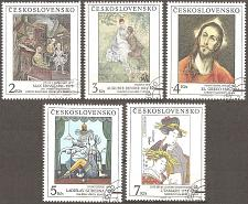 Buy [CZ2843] Czechoslovakia: Sc. no. 2843-2847 (1991) CTO Complete Set