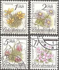 Buy [CZ2839] Czechoslovakia: Sc. no. 2839-2842 (1991) CTO Complete Set