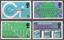 Buy [GB0601] Great Britain: Sc. no. 601-604 (1969) MNH full set