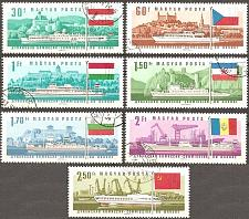 Buy [HU1828] Hungary: Sc. no. 1828-1834 (1967) CTO Complete Set
