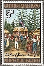 Buy [NI0143] Norfolk Island: Sc. no. 143 (1970) MNH Single