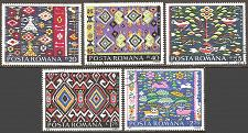 Buy Romania: Sc. no. 2583-2587 (1975) CTO