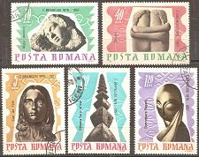 Buy Romania: Sc. no. 1913-1917 (1967) CTO