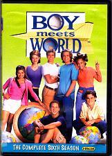 Buy Boy Meets World - Season 6 DVD 2011 3-Disc Set - Very Good