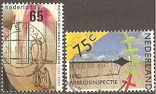 Buy [NE0752] Netherlands: Sc. no. 752-753 (1990) Used complete set