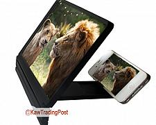 Buy Screen Magnifier Professional Magnification with Stand and Holder For Cell Phone