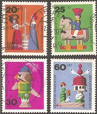 Buy [GEB476] Germany: Sc. No. B476-B479 (1971) Used Complete Set