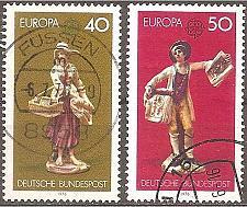 Buy [GE1211] Germany: Sc. No. 1211-1212 (1976) Used Complete Set