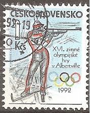 Buy Czechoslovakia: Sc. no. 2850 (1992) Used single