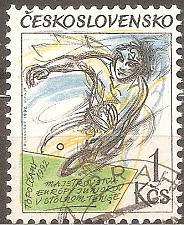 Buy Czechoslovakia: Sc. no. 2862 (1992) used single