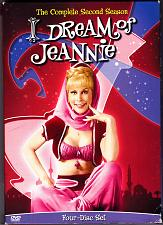 Buy I Dream Of Jeannie - Complete 2nd Season DVD 2006, 4-Disc Set - Very Good