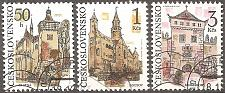 Buy [CZ2828] Czechoslovakia: Sc. no. 2828-2830 (1991) CTO complete set