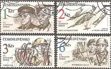 Buy Czechoslovakia: Sc. no. 2857-2860 (1992) used complete set