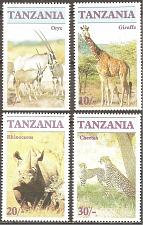 Buy [TZ0319] Tanzania: Sc. no. 319-322 (1986) MNH Complete Set