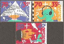 Buy [NEB674] Netherlands: Sc. no. B674-B676 (1983) Used Complete Set