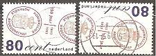 Buy Netherlands: Sc. no. 0828-0829 (1993) Used Complete Set