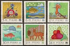 Buy [PO2556] Poland: Sc. no. 2556-2561 (1980) MNH Complete Set