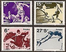 Buy Poland: Sc. no. 2568-2571 (1983) MNH Complete Ser