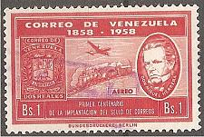Buy [VZC708] Venezuela: Sc. no. C708 (1959) Used