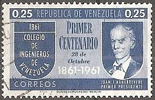 Buy [VZ0801] Venezuela: Sc. no. 801 (1961) Used