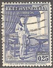 Buy [VZ0353] Venezuela: Sc. no. 353 (1939) Used