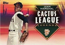 Buy 2019 Topps Cactus League Legends #4 - Juan Marichal - Giants