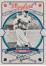 Buy 2019 Panini Leather And Lumber Slugfest #12 - Babe Ruth - Yankees