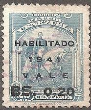 Buy [VZ0375] Venezuela: Sc. no. 375 (1941) Used