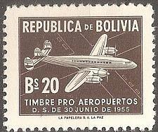 Buy [BLRA26] Bolivia: Sc. no. RA26 (1955) MNH