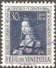 Buy [VZC333] Venezuela: Sc. no. C333 (1951) Used