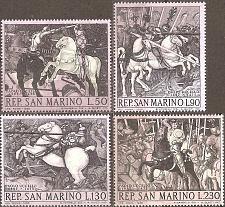 Buy [SM088] San Marino: Sc. no. 688-691 (1968) MNH Complete Set