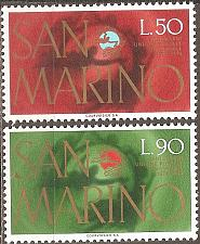 Buy [SM0848] San Marino: Sc. no. 848-849 (1974) MNH Complete Set