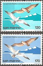 Buy [SM0929] San Marino: Sc. no. 929-930 (1978) MNH Complete Set