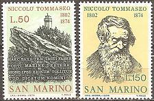 Buy [SM0850] San Marino: Sc. no. 850-851 (1974) MNH Complete Set