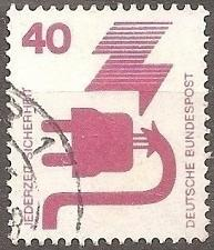 Buy [GE1079] Germany: Sc. No. 1079 (1972) Used