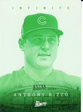 Buy 2017 Topps Bunt Infinite Green #I-AR - Anthony Rizzo - Cubs