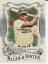 Buy 2016 Allen & Ginter Baseball Legends #4 - Jackie Robinson - Dodgers