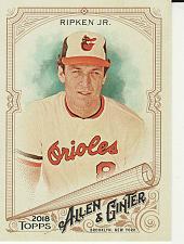 Buy 2018 Allen & Ginter #60 - Cal Ripken Jr. - Orioles