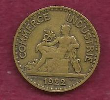 Buy FRANCE 50 Centimes 1922 Coin - Chamber of Commerce LIBERTY SEATED (AL-Bronze)