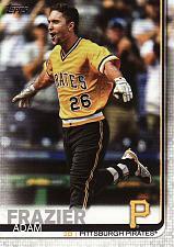Buy 2019 Topps #635 - Adam Frazier - Pirates