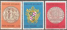 Buy [VC0484] Vatican City: Sc. no. 484-486 (1970) MNH full set