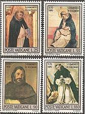Buy [VC0509] Vatican City: Sc. no. 509-512 (1971) MNH full set