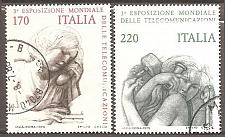 Buy [IT1477] Italy: Sc. no. 1377-1378 (1979) Used Complete Set