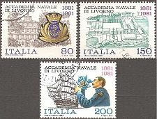 Buy [IT1472] Italy: Sc. no. 1472-1474 (1981) Used Complete Set
