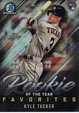 Buy 2019 Bowman Chrome Rookie Of The Year Favorites #ROYF1 - Kyle Tucker - Astros