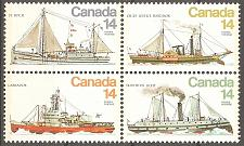 Buy [CA0779] Canada: Sc. no. 779a (1977) MNH Block of 4