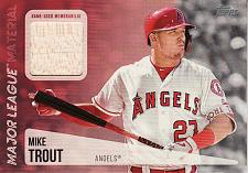 Buy 2019 Topps Major League Materials #MLM-MT - Mike Trout - Angels