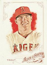 Buy 2015 Allen & Ginter #252 - Mike Trout - Angels